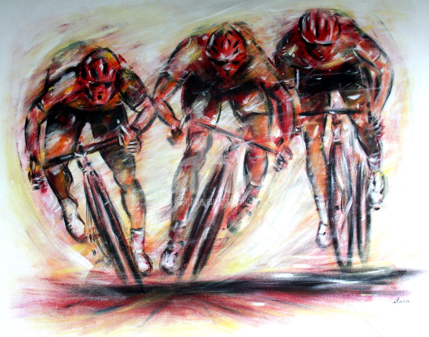 Henri Ibara - Arrivée sprint