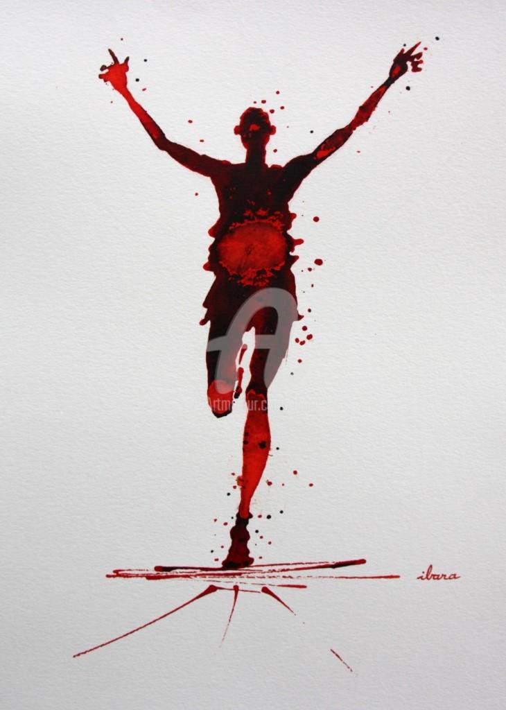 Henri Ibara - Arrivée marathon N°3