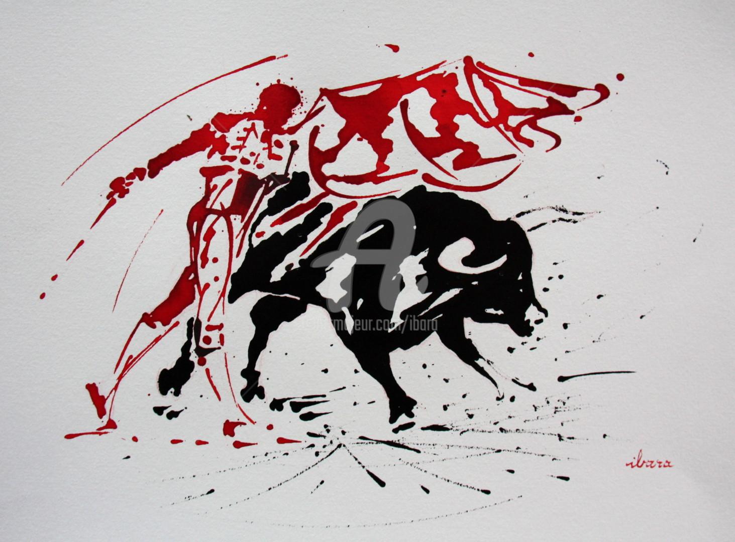 Henri Ibara - Tauromachie N°1