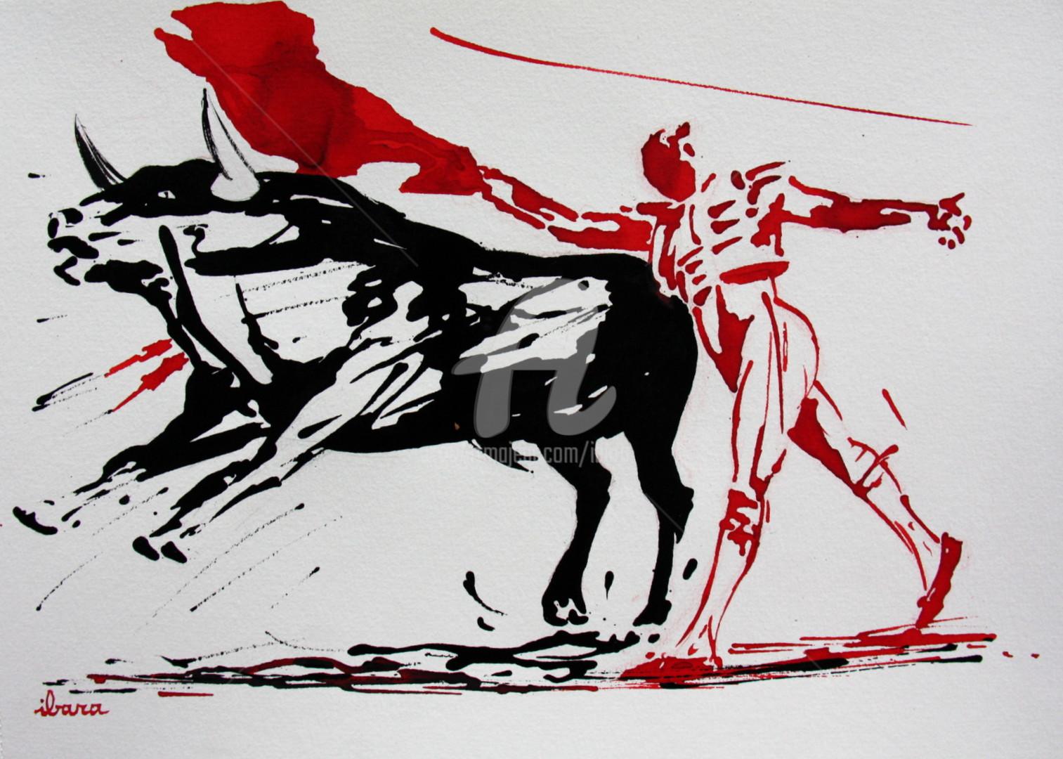 Henri Ibara - Tauromachie N°5