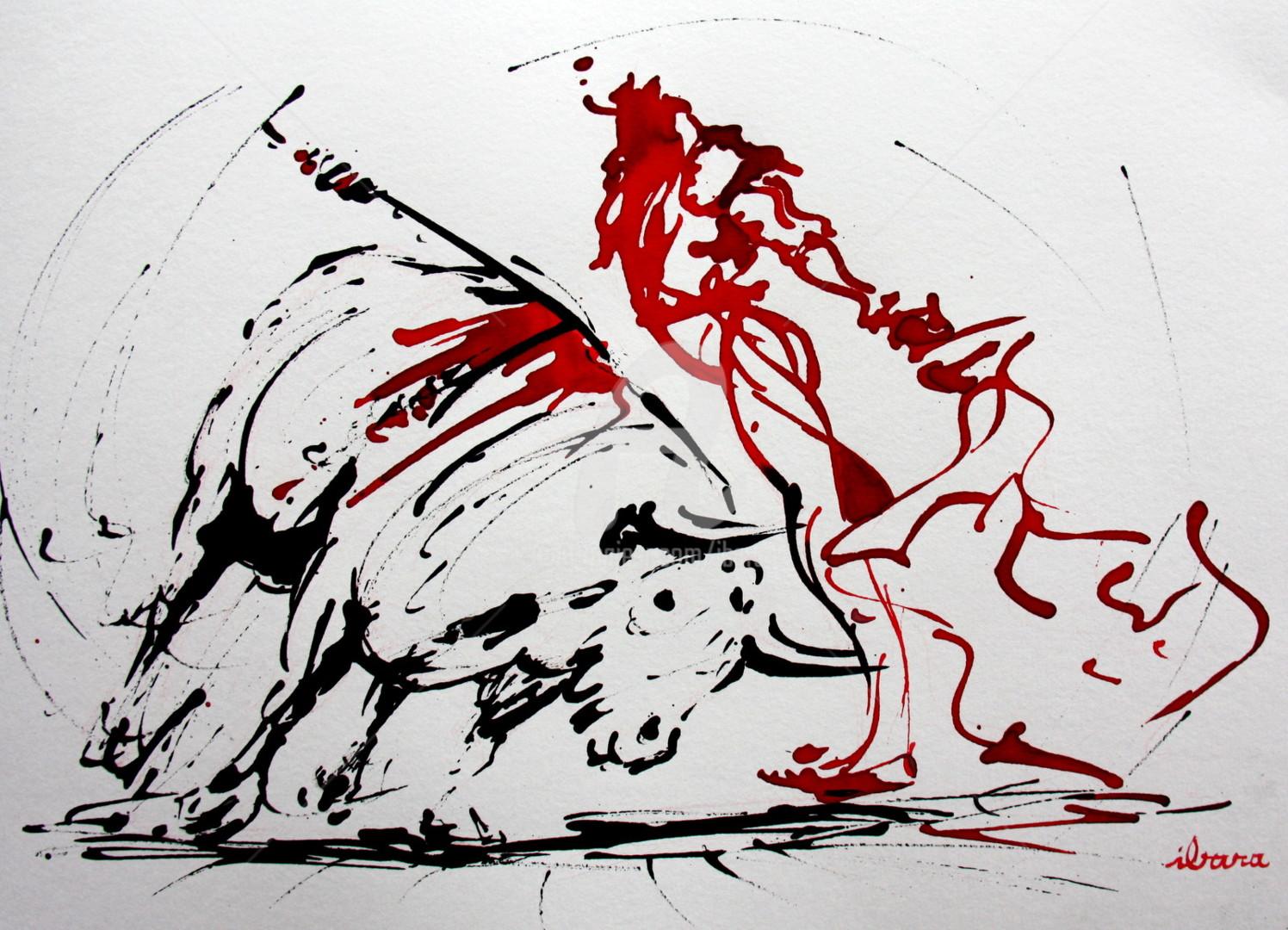 Henri Ibara - Tauromachie N°8