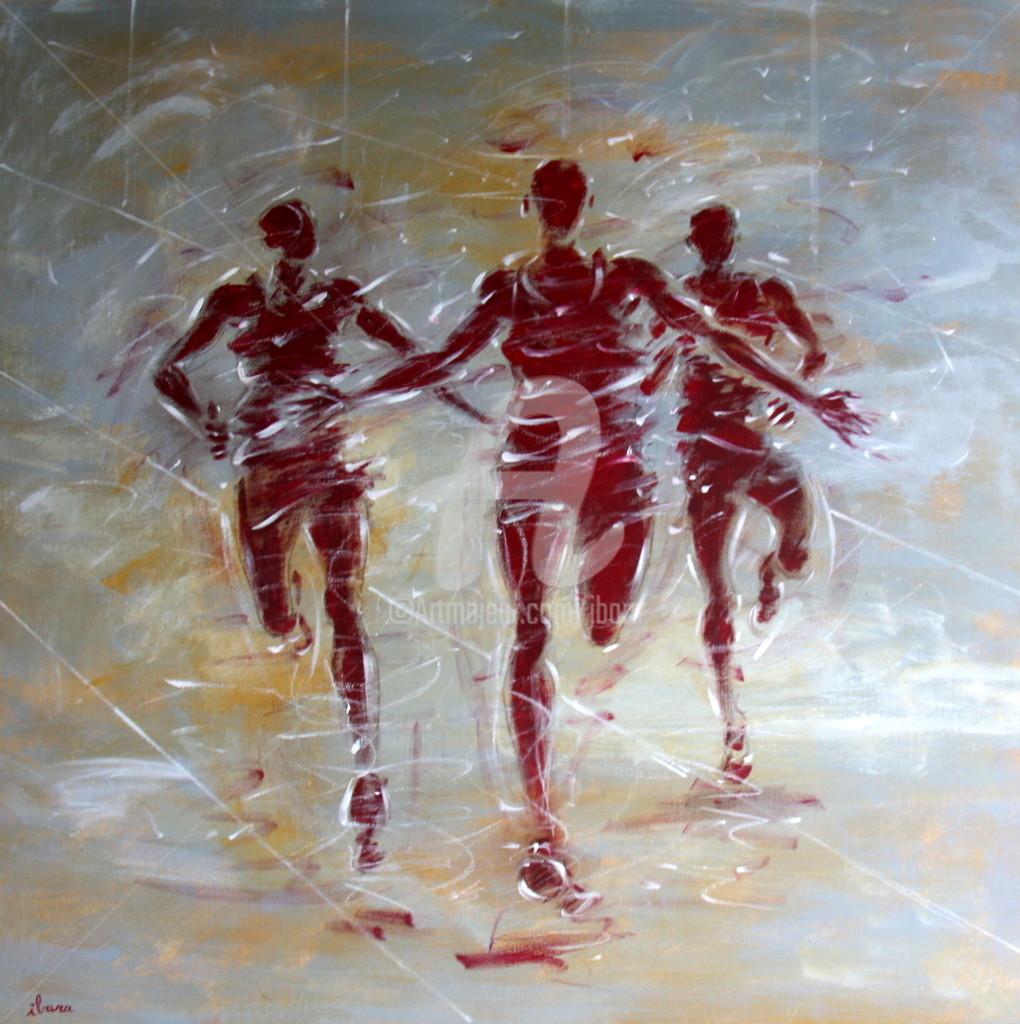 Henri Ibara - Arrivée demi-marathon