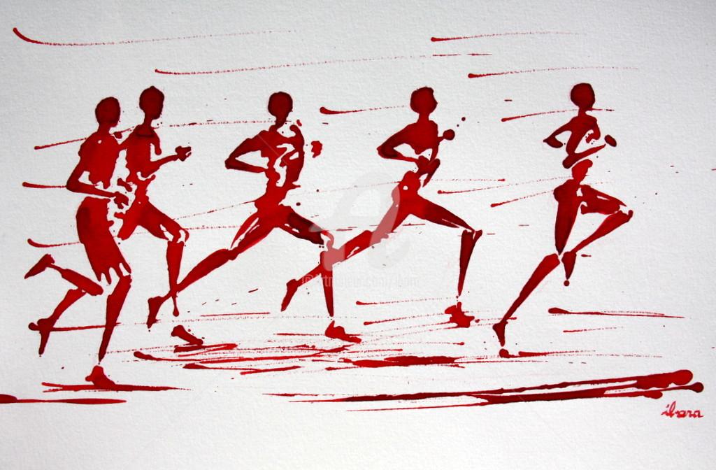"Henri Ibara - ""10000m"" N°2"