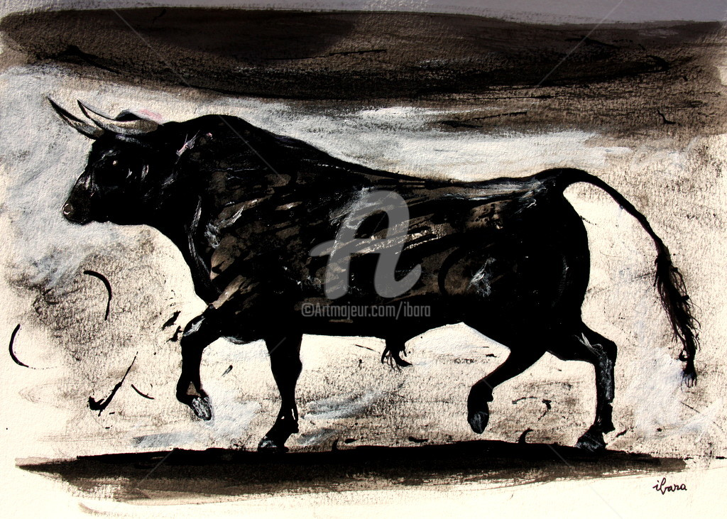 Henri Ibara - Le taureau