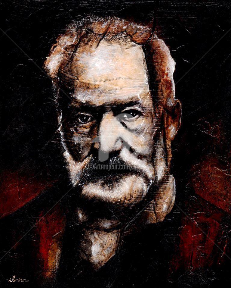 Henri Ibara - Portrait de Victor Hugo
