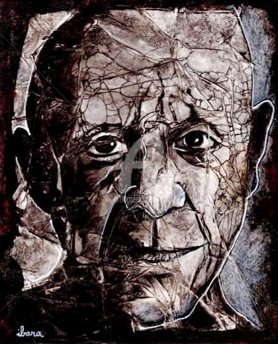 Henri Ibara - Portrait de Pablo Picasso