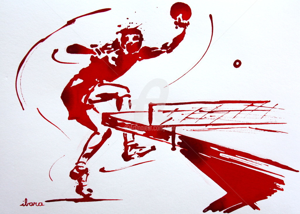 Henri Ibara - Ping pong N°3