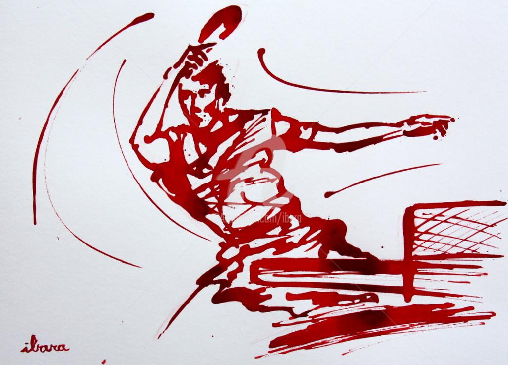 Henri Ibara - Ping pong N°5