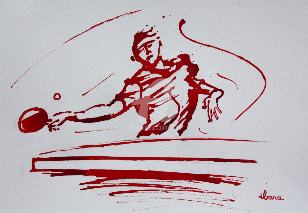 Henri Ibara - Ping pong N°6