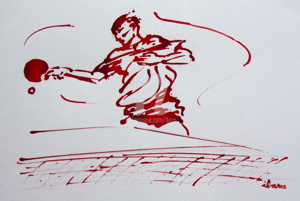Henri Ibara - Ping pong N°7