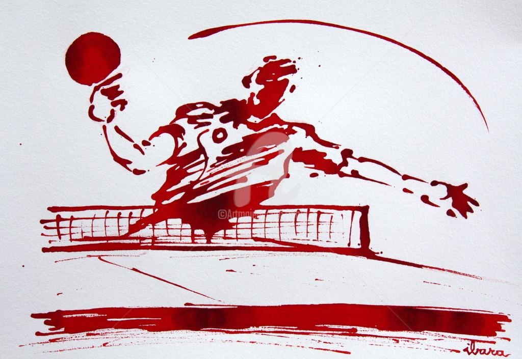 Henri Ibara - Ping pong N°8