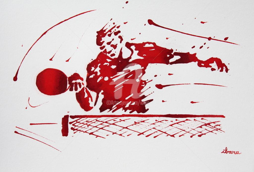 Henri Ibara - Ping pong N°9