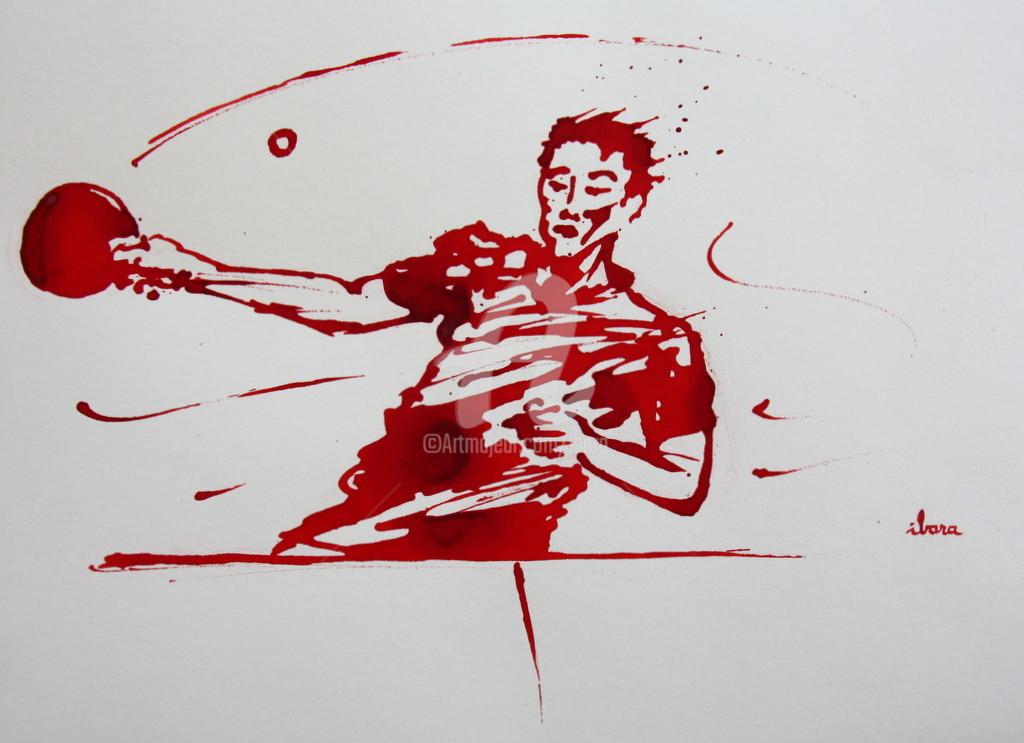 Henri Ibara - Ping pong N°11