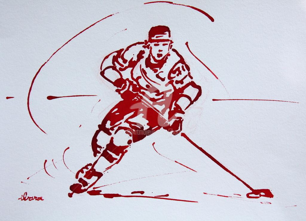Henri Ibara - Hockey sur glace N°2