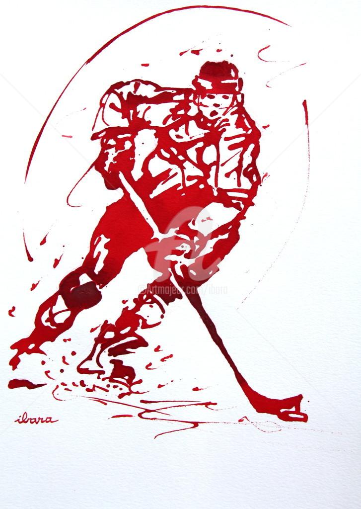 Henri Ibara - Hockey sur glace N°3