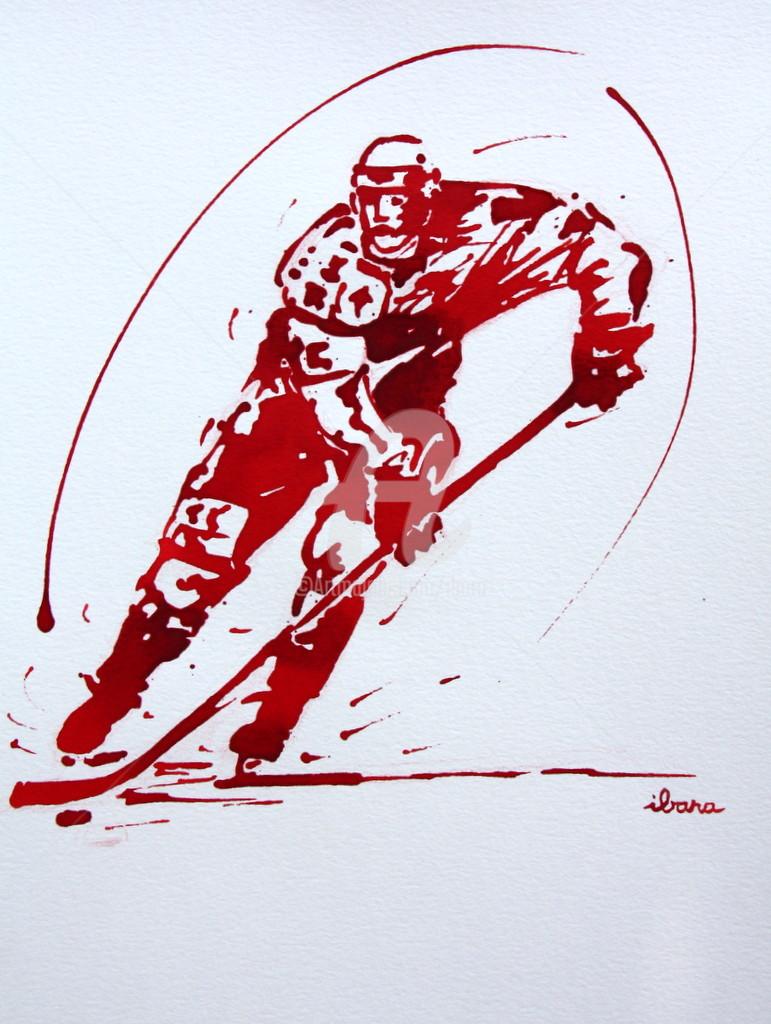 Henri Ibara - Hockey sur glace N°4