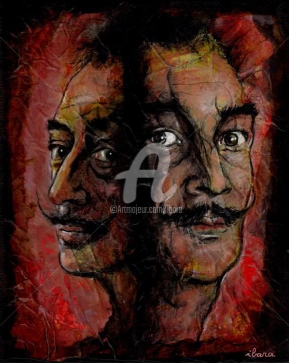 Henri Ibara - Portrait de Salvador Dali
