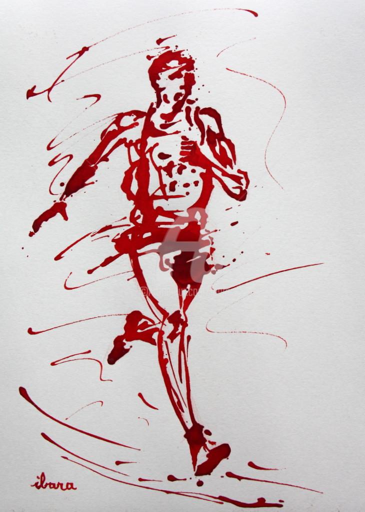 Henri Ibara - Coureur de 10000m