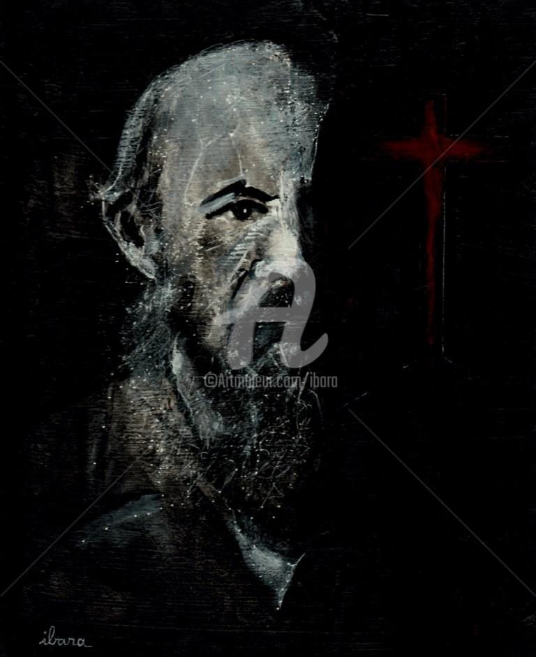 Henri Ibara - Portrait de Fiodor Dostoievski