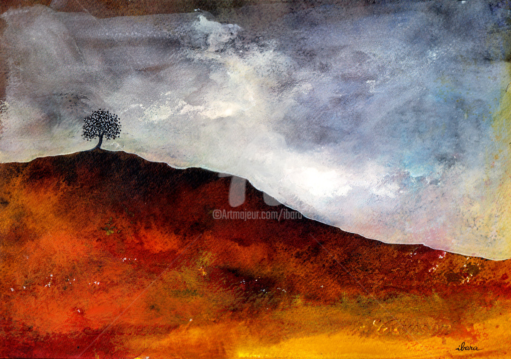 Henri Ibara - Arbre et terre rouge