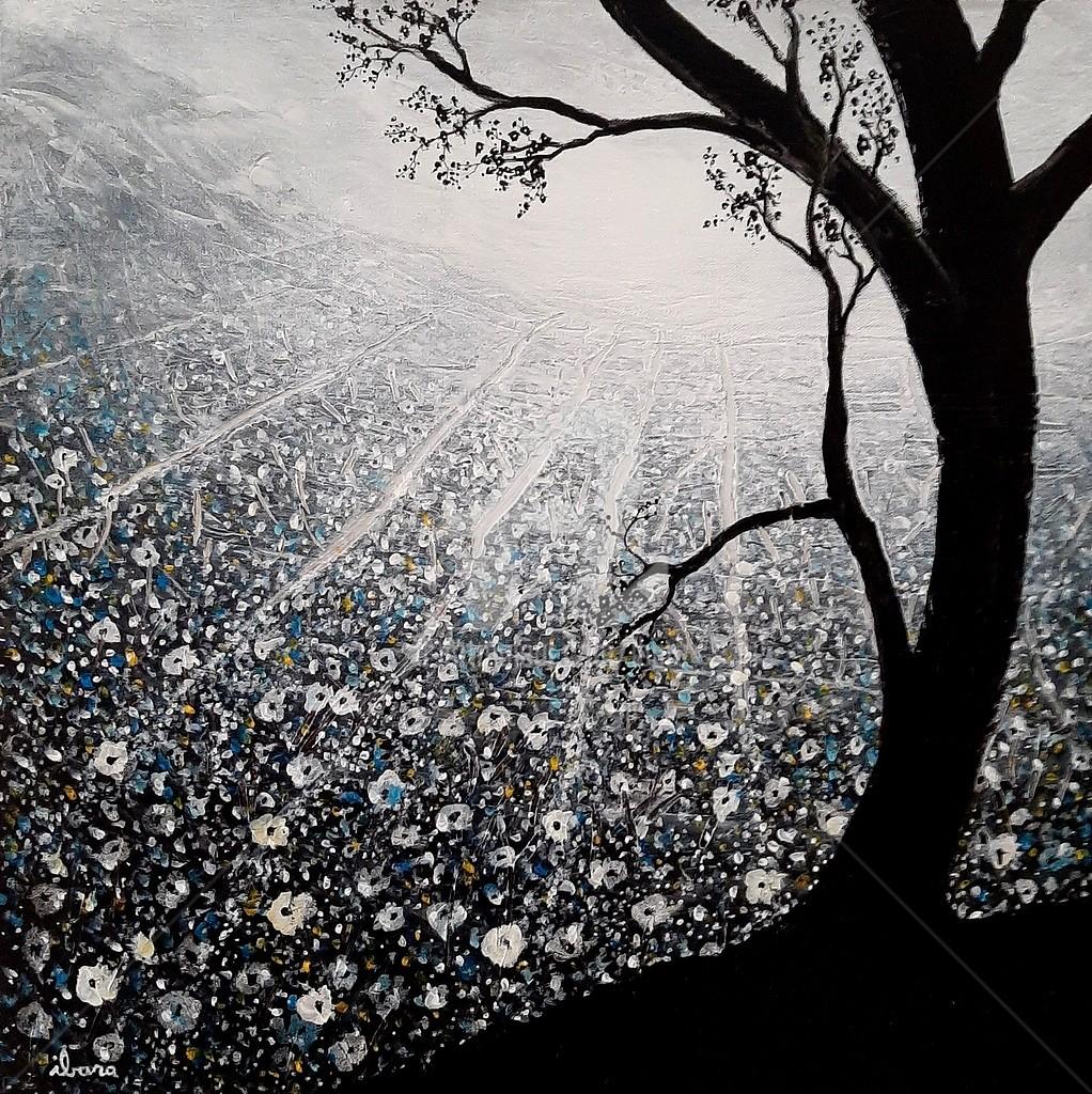 Henri Ibara - Arbre et lumière végétale