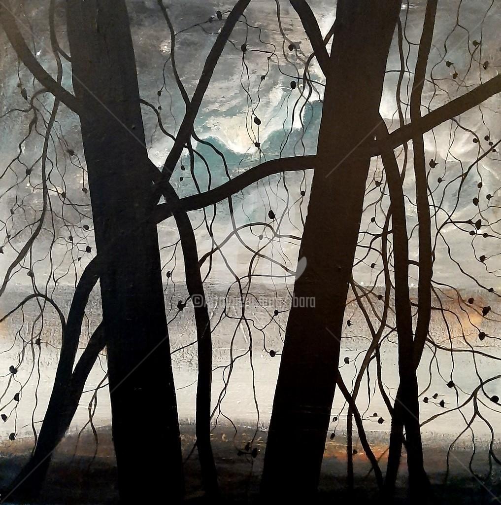 Henri Ibara - Arbres noirs