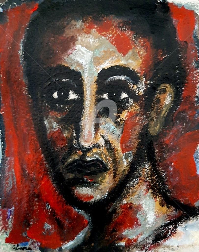 Henri Ibara - Portrait imaginaire N°2