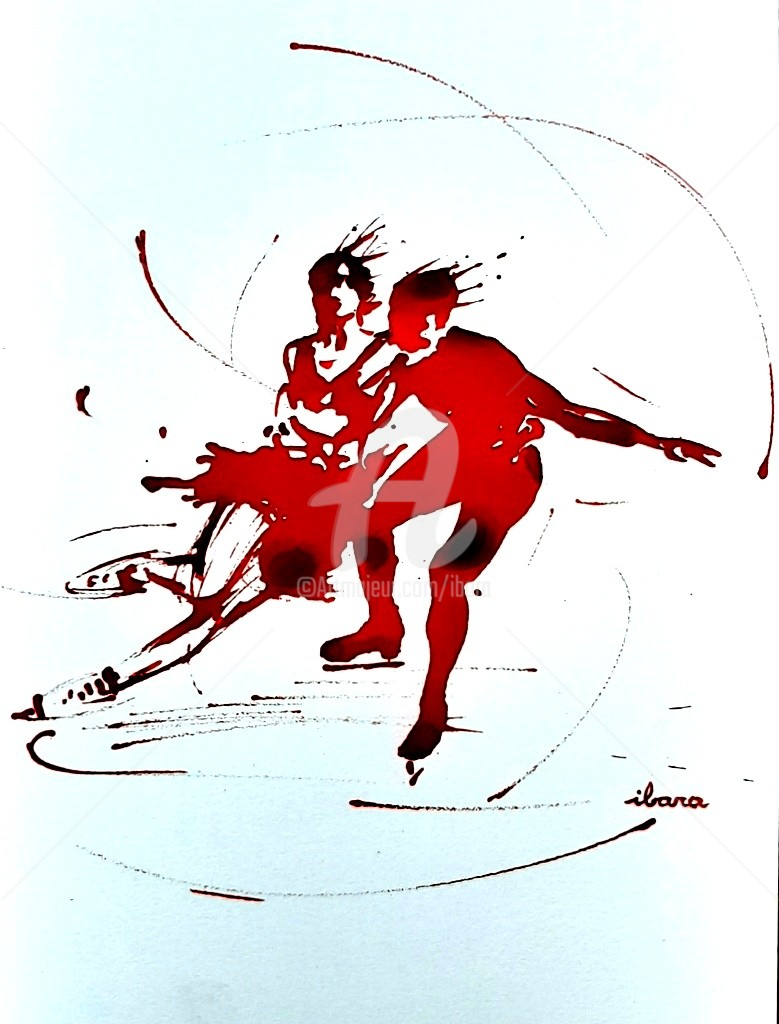 Henri Ibara - Patinage artistique N°1