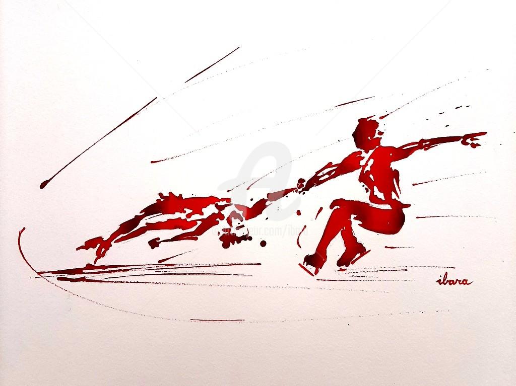 "Henri Ibara - ""Patinage artistique N°3"""