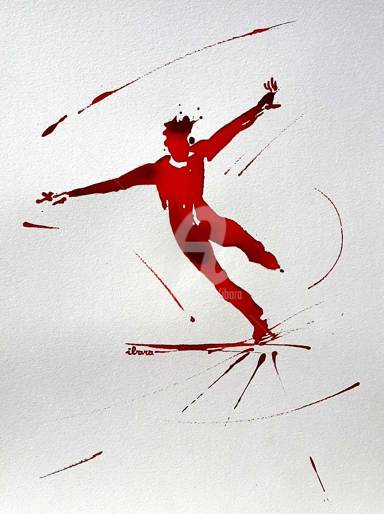 Henri Ibara - Patinage artistique N°4