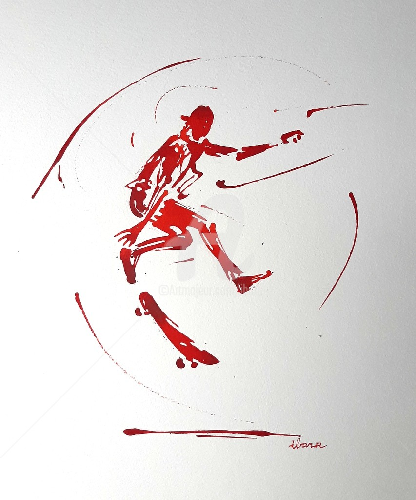 Henri Ibara - Skateur N°2