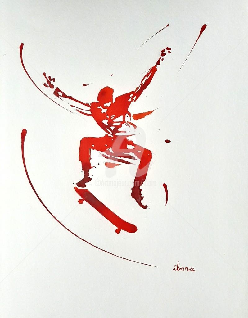 Henri Ibara - Skateur N°3