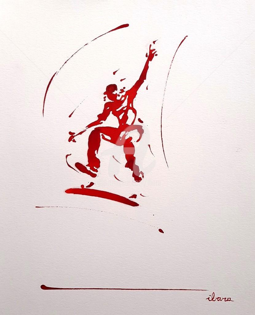 Henri Ibara - Skateur N°6