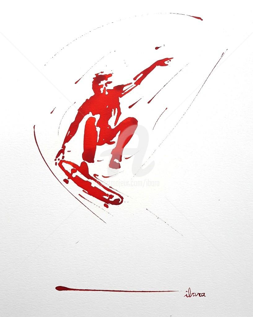 Henri Ibara - Skateur N°8