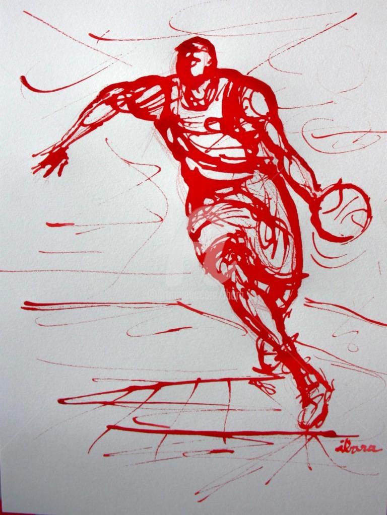 Henri Ibara - basket-n-8-dessin-calligraphique-d-ibara.jpg