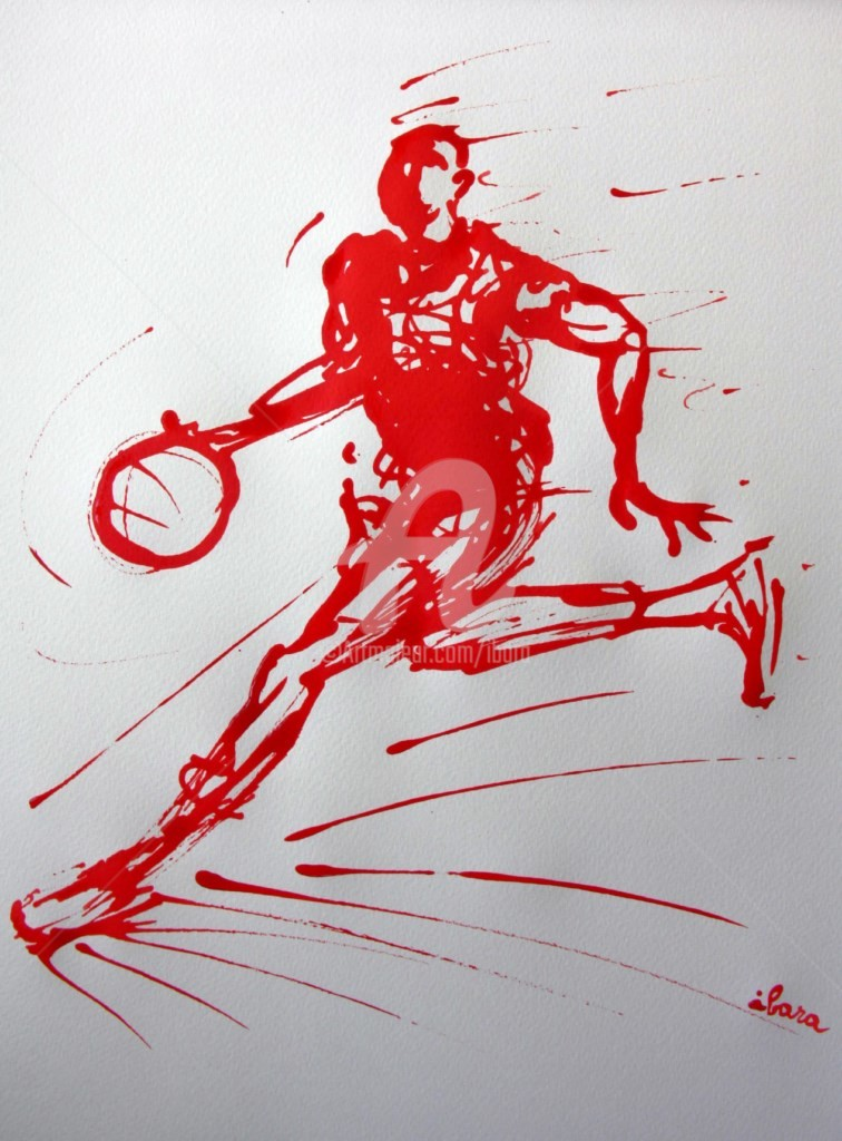 Henri Ibara - basket-n-9-dessin-calligraphique-d-ibara.jpg