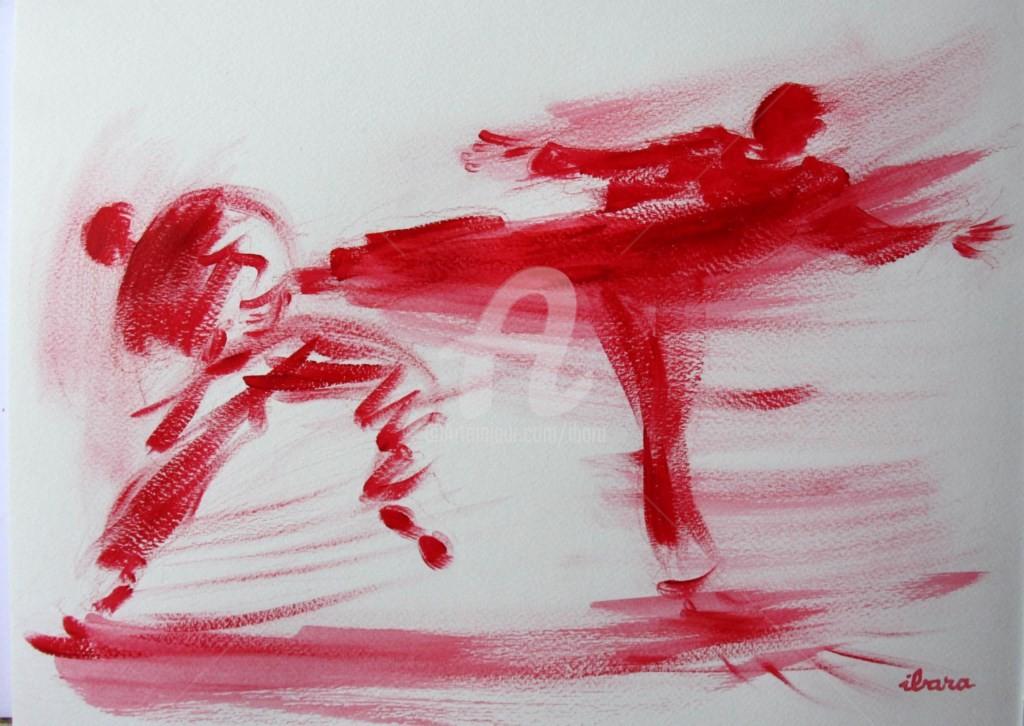 Henri Ibara - karate-n-2-dessin-calligraphique-d-ibara.jpg