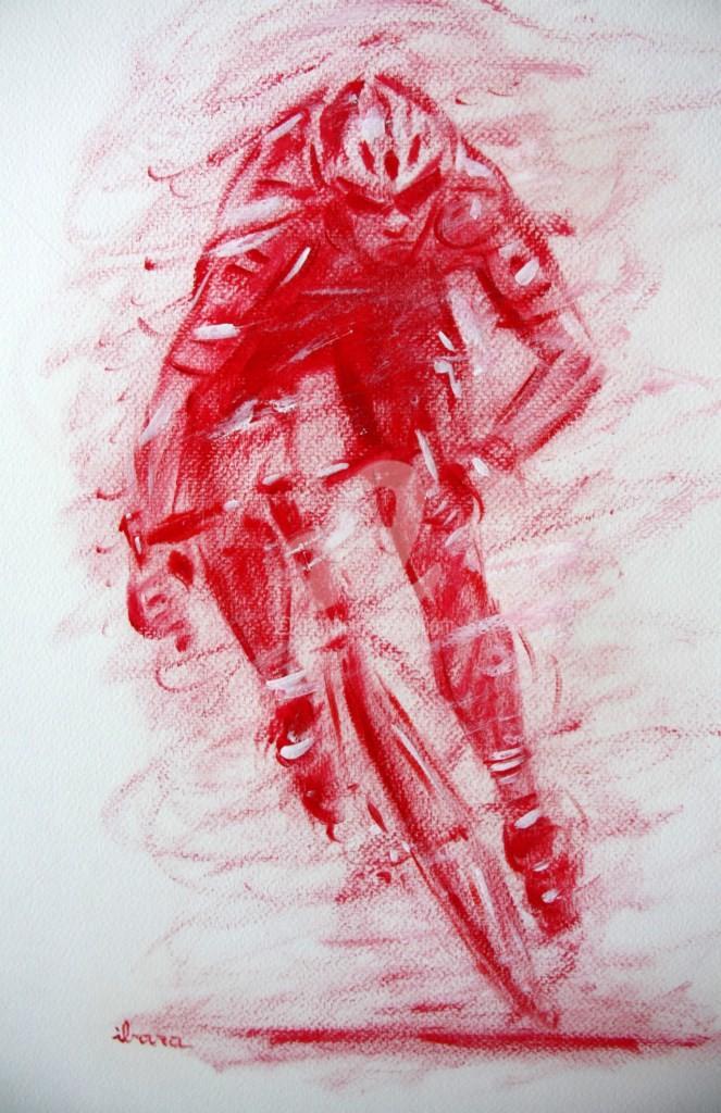 Henri Ibara - cyclisme-n-1-dessin-calligraphique-peinture-rouge-ibara.jpg
