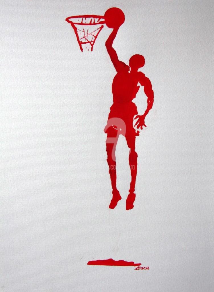 Henri Ibara - basket-n-4-dessin-calligraphique-d-ibara-a-l-encre-rouge.jpg