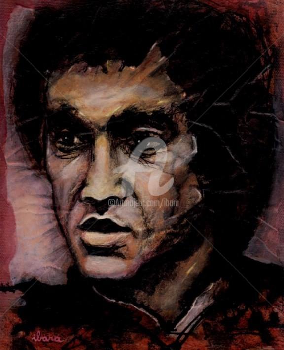 Henri Ibara - portrait-de-bruce-lee-peinture-acrylique-sur-toile-par-ibara-format-27cm-sur-22cm.jpg