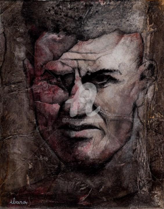Henri Ibara - portrait-de-jack-dempsey-peinture-acrylique-sur-toile-par-ibara-format-27cm-sur-22cm.jpg