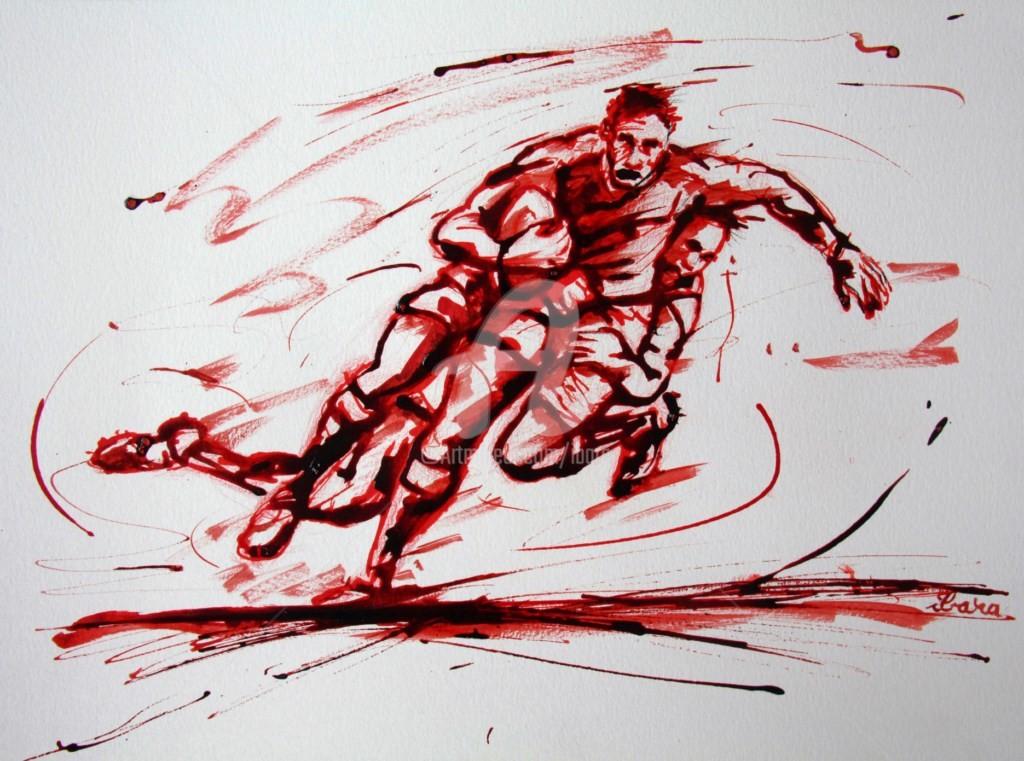 Henri Ibara - Rugby N°24