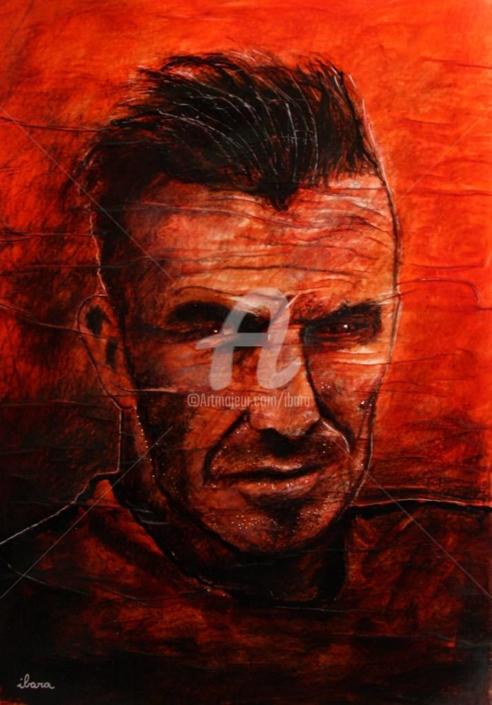 Henri Ibara - portrait-de-david-beckham-par-ibara-dessin-a-l-encre-rouge-et-sanguine-sur-papier-aquarelle-300gr-froisse-format-30cm-sur-42cm.jpg