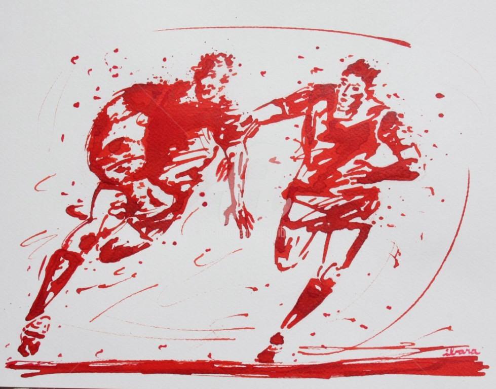Henri Ibara - rugby-n-37-dessin-d-ibara-encre-rouge-sur-papier-aquarelle-format-30cm-sur-42cm.jpg