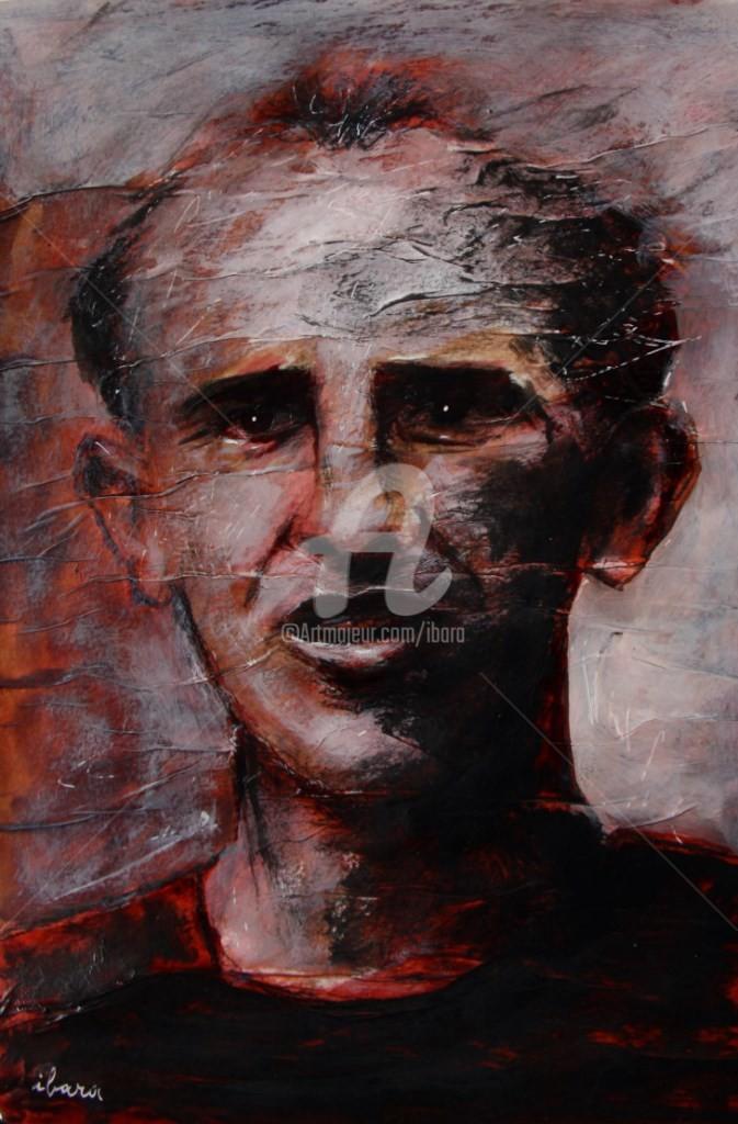 Henri Ibara - portrait-deemil-zatopek-dessin-d-ibara-a-l-encre-rouge-sanguine-crayon-noir-et-crayon-blanc-sur-papier-aquarelle-300gr-froisse-format-30cm-sur-42cm.jpg