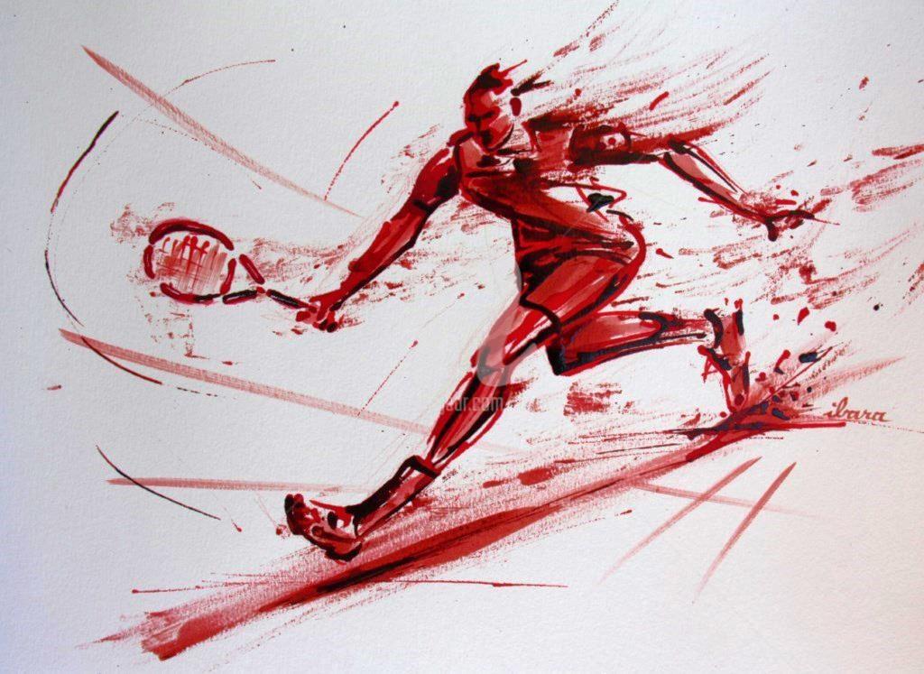 Henri Ibara - tennis-n-11-dessin-d-ibara-a-l-encre-rouge-et-sanguine-sur-papier-aquarelle-300gr-format-30cm-sur-42cm.jpg