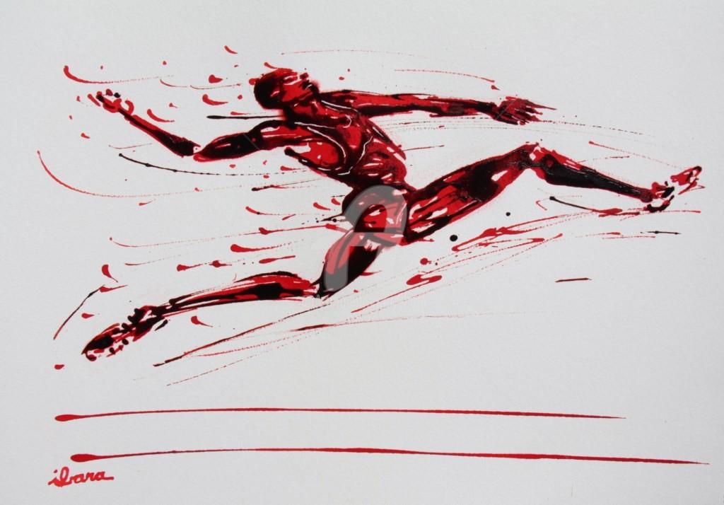 Henri Ibara - saut-en-longueur-n-4-dessin-d-ibara-encre-rouge-et-sanguine-sur-papier-aquarelle-300gr-format-30cm-sur-42cm.jpg