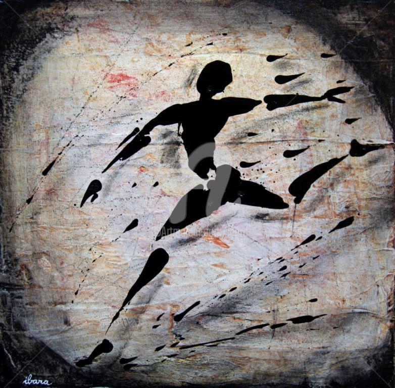 Henri Ibara - ecriture-du-mouvement-n-1-peinture-d-ibara-element-d-un-quatriptyque-acrylique-sur-toile-format-20cm-sur-20cm.jpg